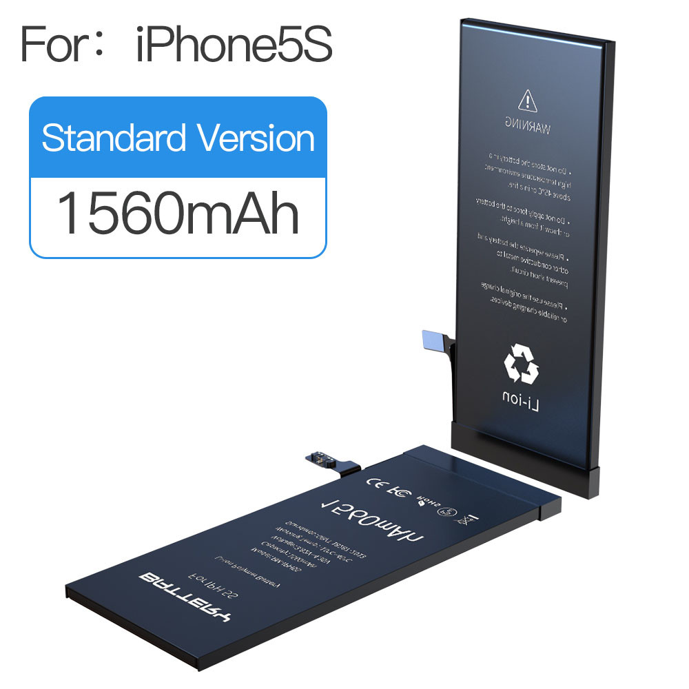 for iPhone 5S Replacement Battery 1560mAh with FREE TOOLS & ADHESIVE
