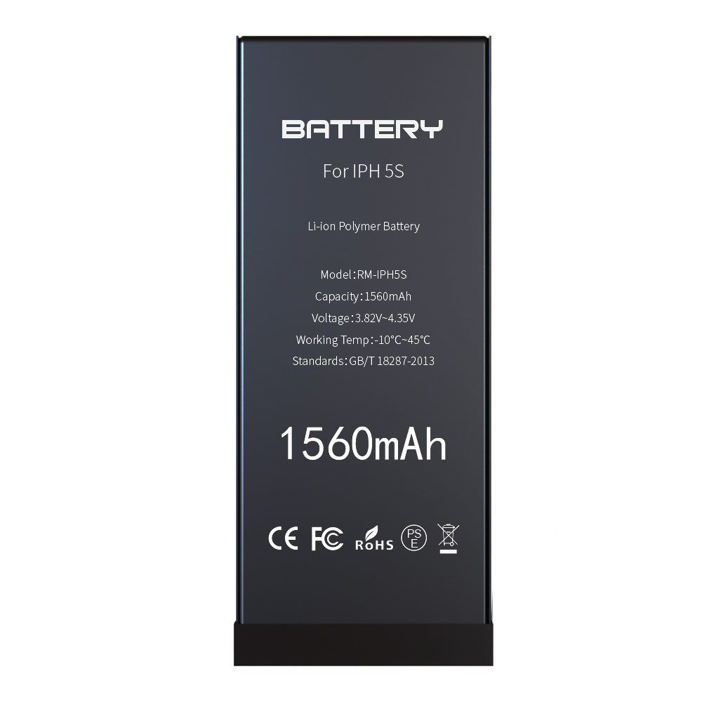 1560mAh OEM smartphone replacement battery for iphone 5s cell phone