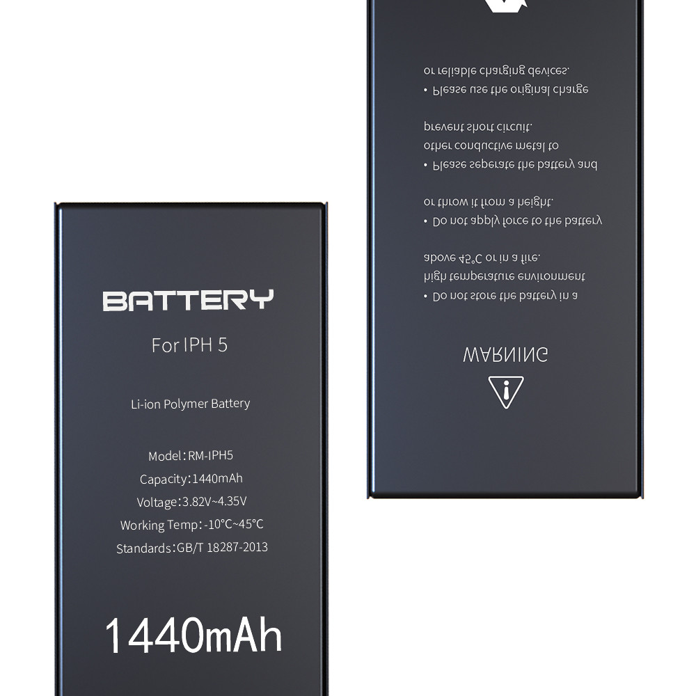 Li - Ion Iphone 5 Internal Battery 1440mAh Zero Cycle Certification CE ROHS FCC