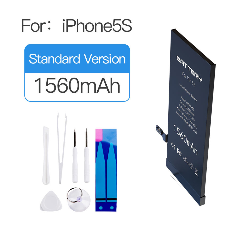 MSDS UN38.3  Iphone 5s Lithium Ion Battery 1560mAh 0 Cycle New Replacement